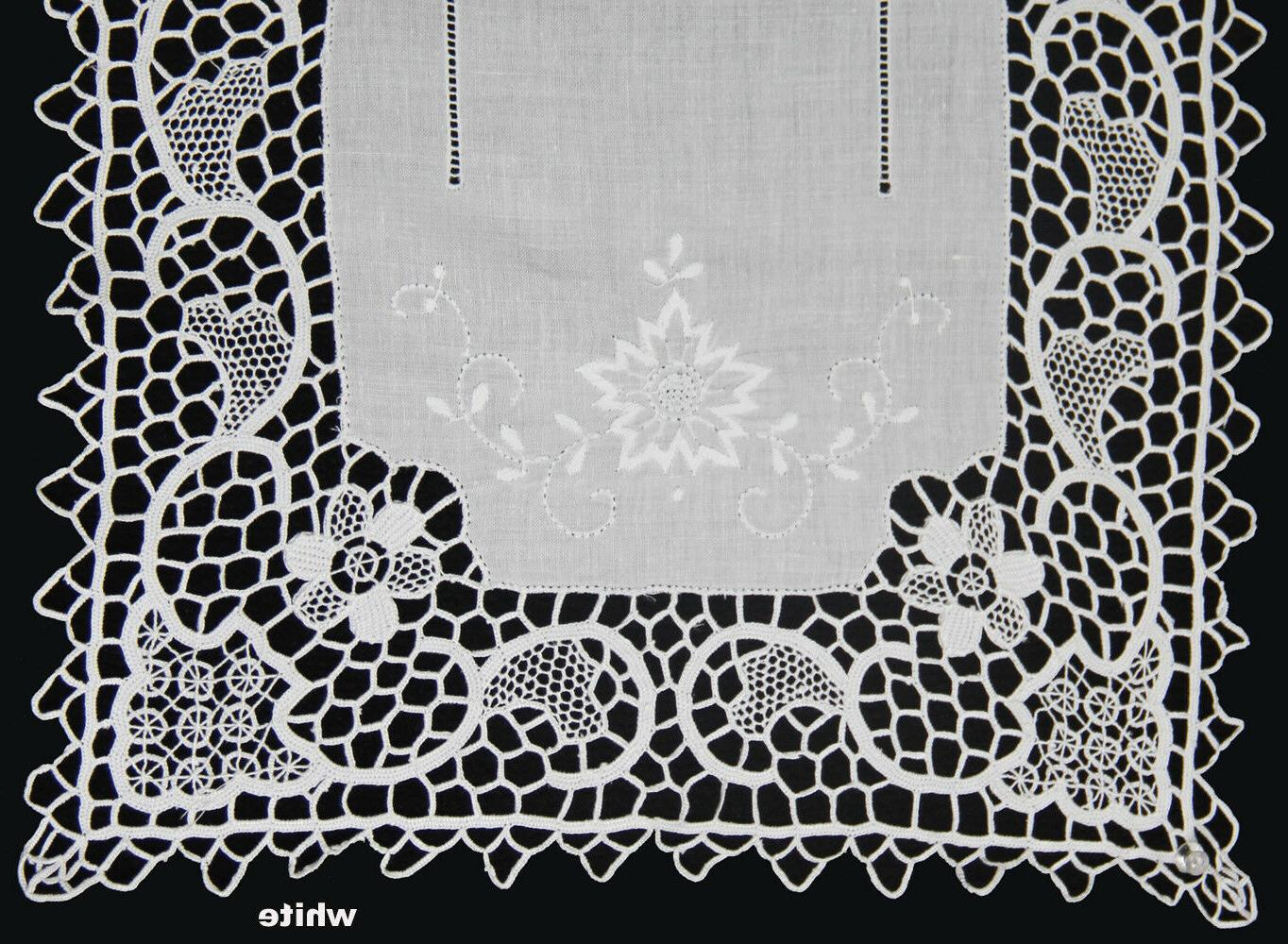 handmade reticella lace needle lace placemat table
