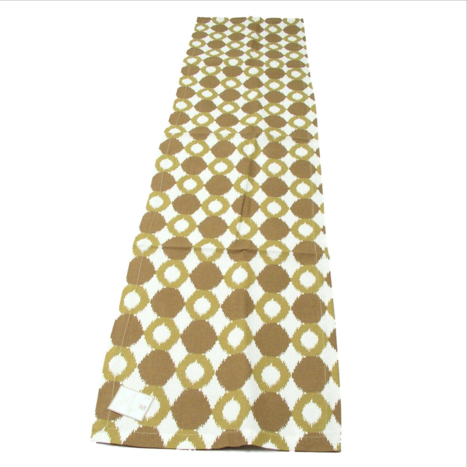 Ikat Collection Chartreuse Table Runner Place mat Napkins Set 9