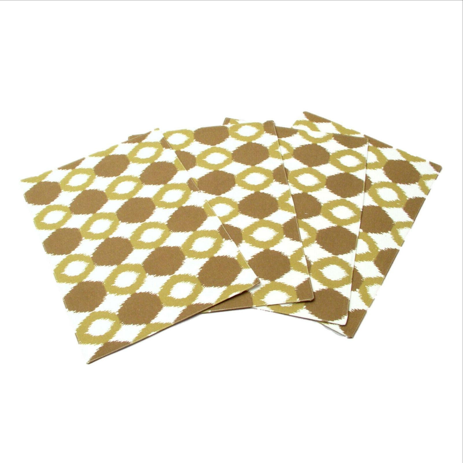 Ikat Collection Chartreuse Runner Set 9