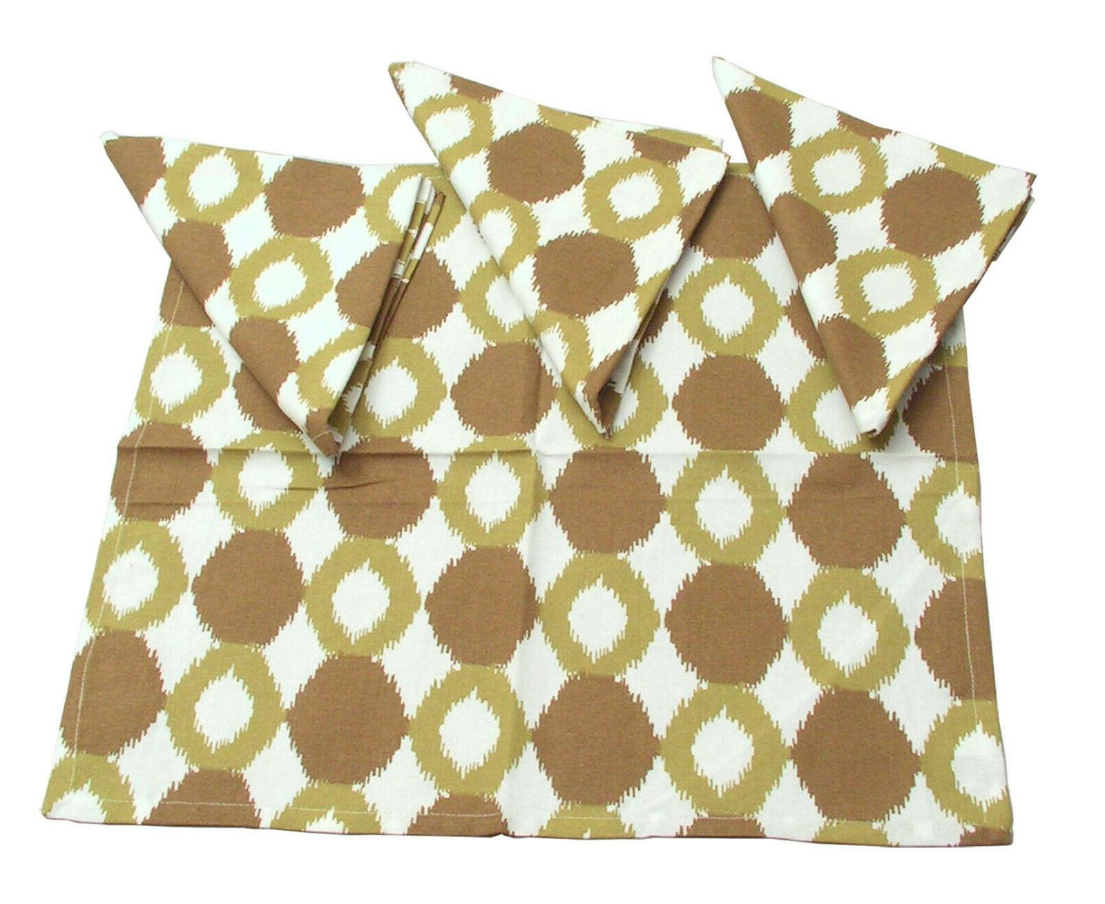 Ikat Collection Chartreuse Runner Place Set