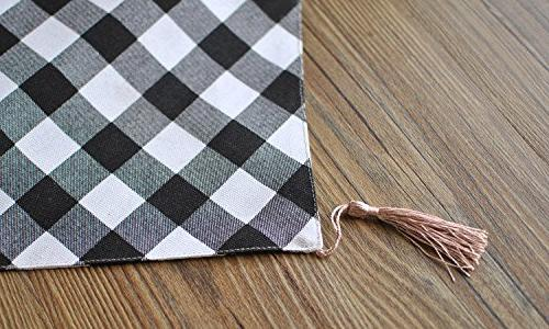 Aothpher inch by 70 inch Chevron Style Runner for Dining