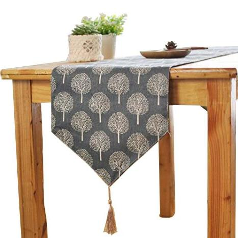 inch rustic tree table runner