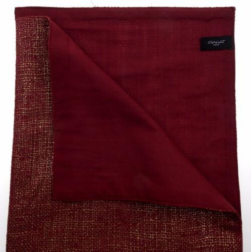 Kitchen Table Runner Tahari Home Red Gold Party Wedding