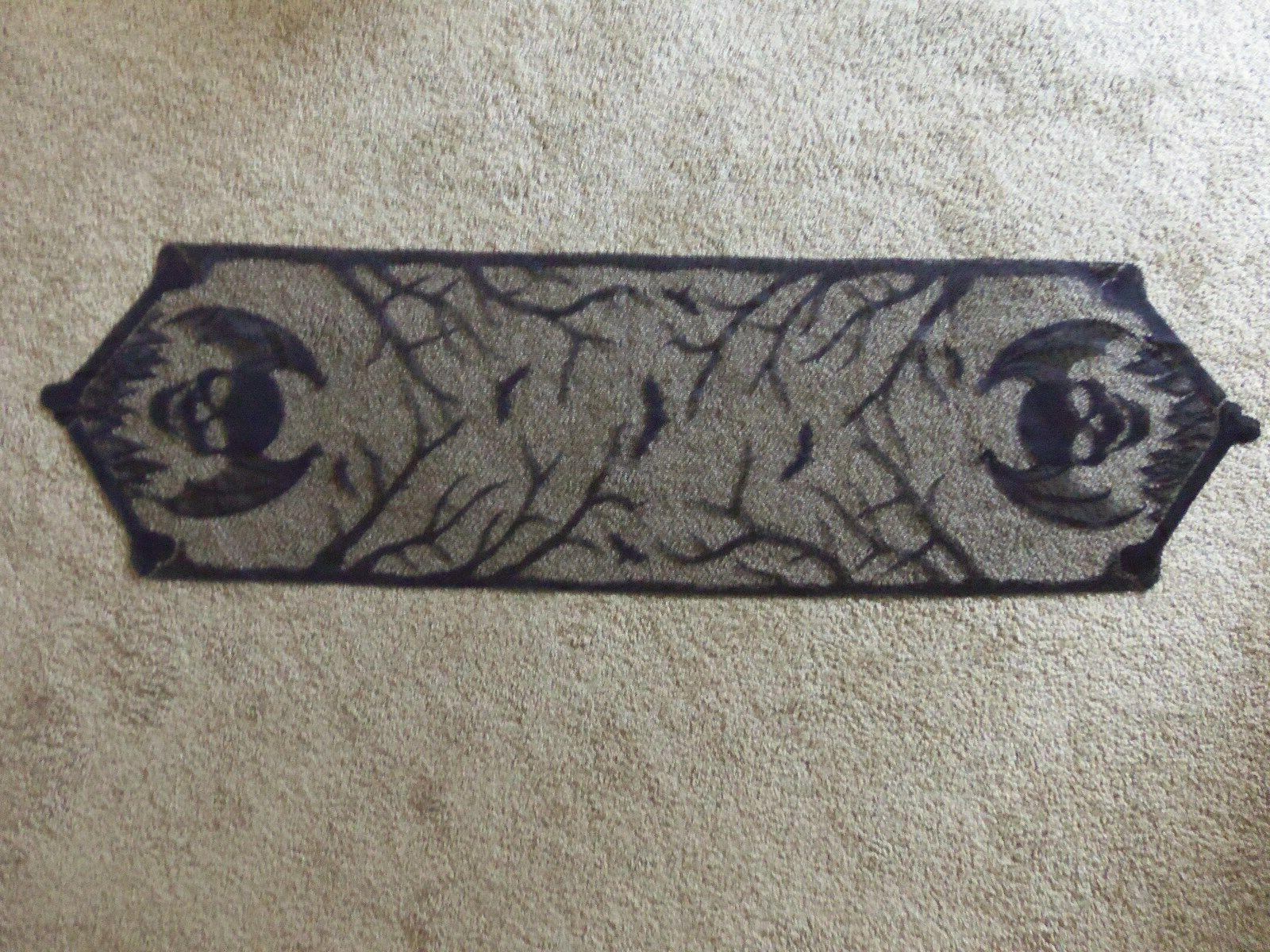 lace table runner black halloween gothic punk