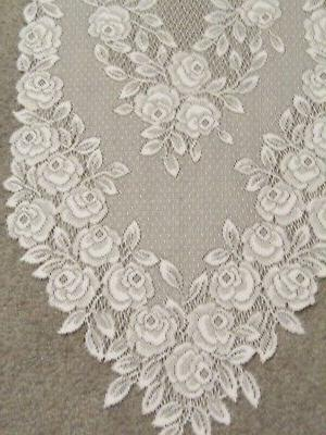 """Lace Table Runner Tea x 14"""""""