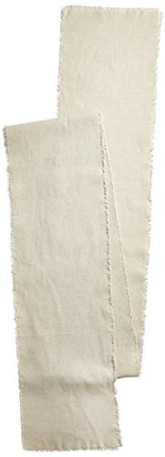 Linen Table Runner with Fringe Edge, 12-1/2-Inch x 120-Inch