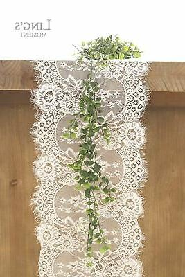 Ling's moment White Lace Rustic