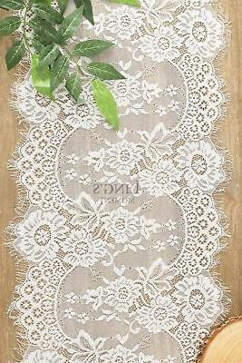 Ling's moment White Lace Rustic Chic