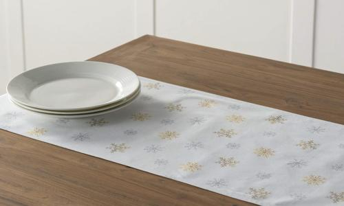 Maison d' Hermine Deer in Woods Cotton Runner 14.5 Inch by 72