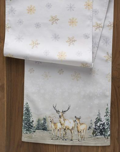 Maison d' in The Woods Cotton Table 14.5 Inch