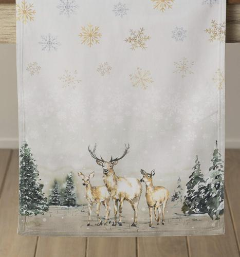 Maison in The Cotton Table Runner 14.5 Inch