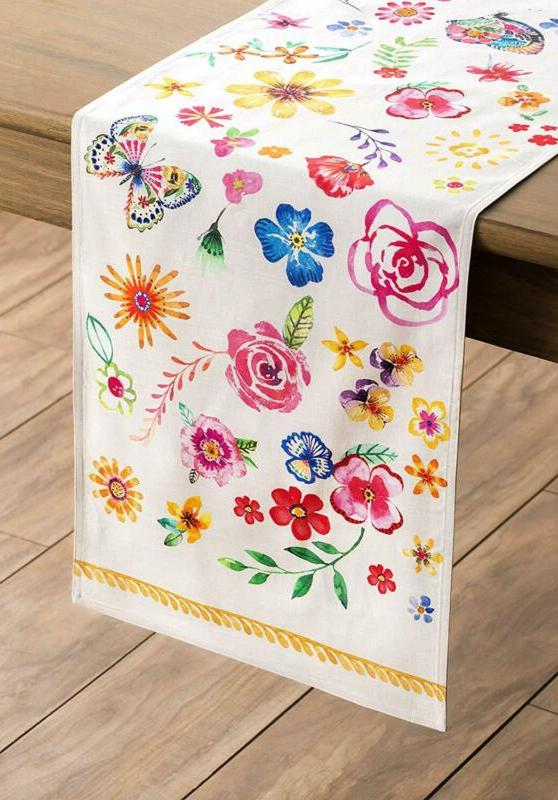 Maison d' Florals 100% Sweety Table Runner - Double Layer 1