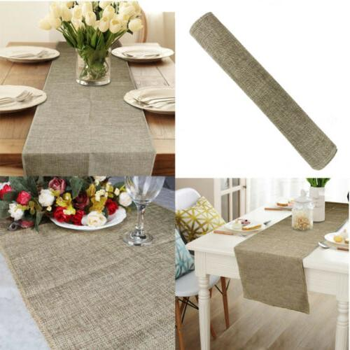 Nature Linen Vintage Jute Burlap Wedding Decor