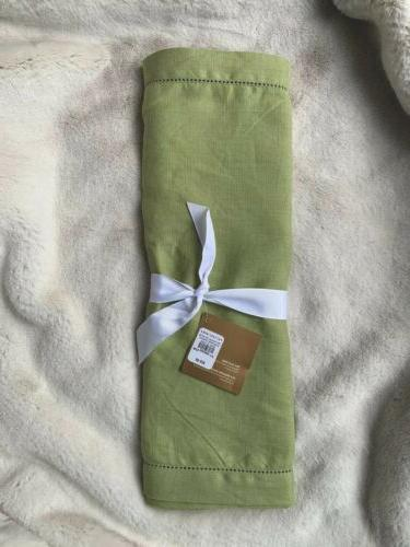nwt table runner 100 percent linen flax