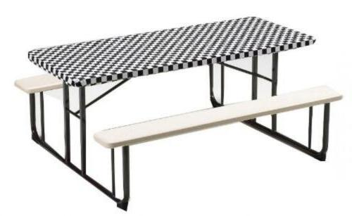plastic stay put banquet table cover 30