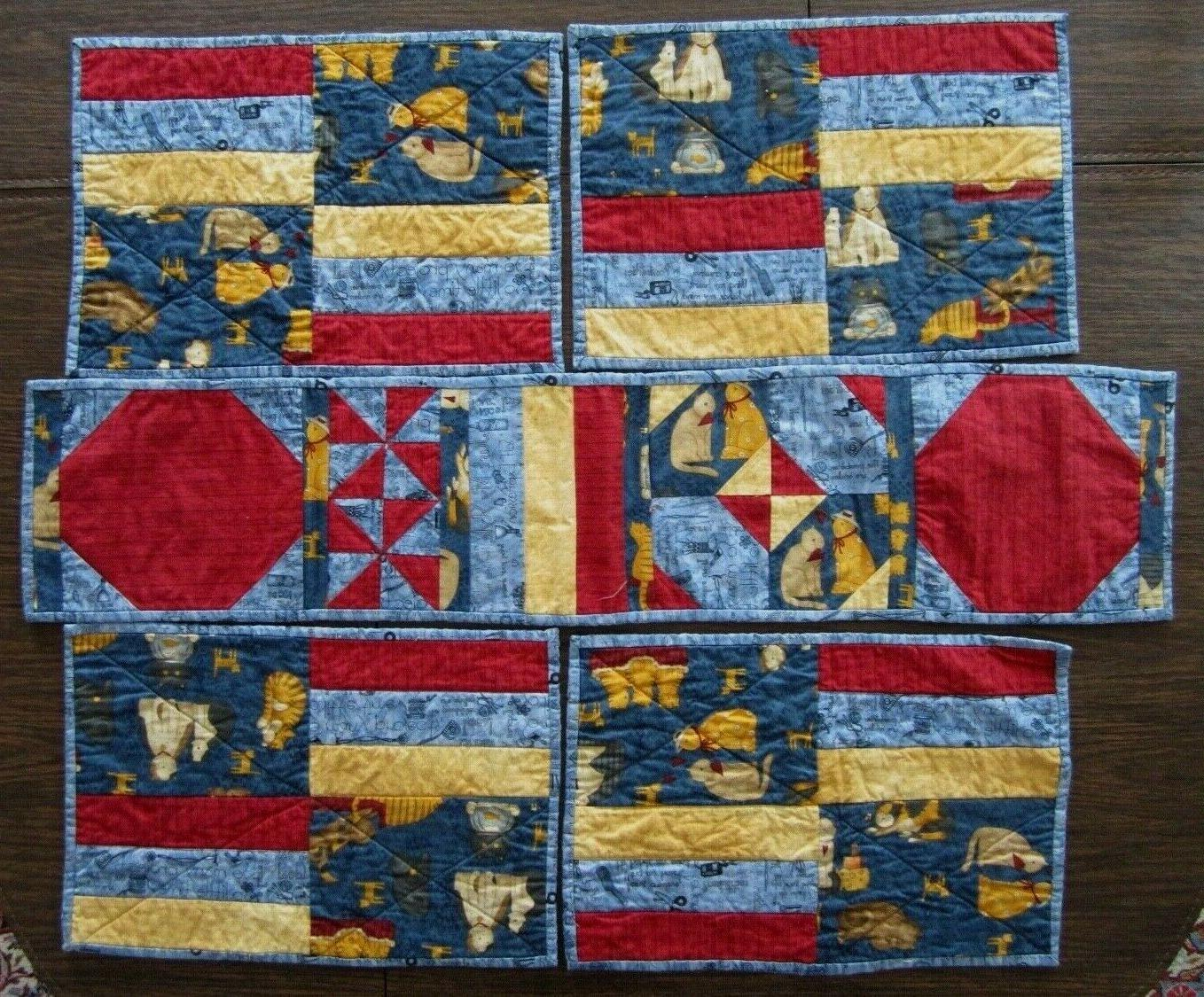 Quilted Table Four