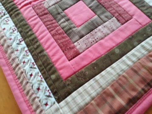 Handmade quilted