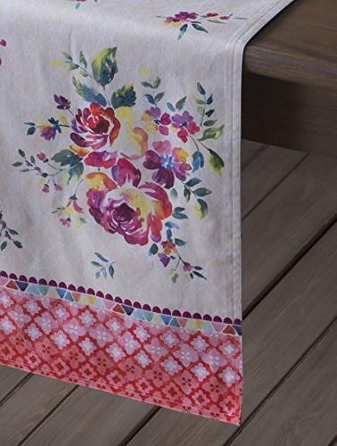 Maison d' Garden 100% Runner Single Layer 14.5 72 Inch