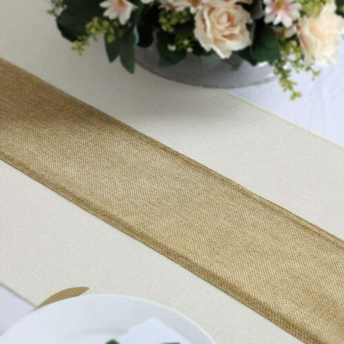 Rustic Table Burlap Table Runner Runner