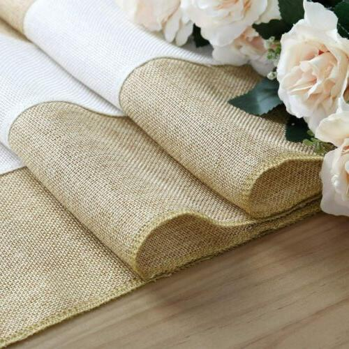 Rustic Table Runner Burlap Runner Woven