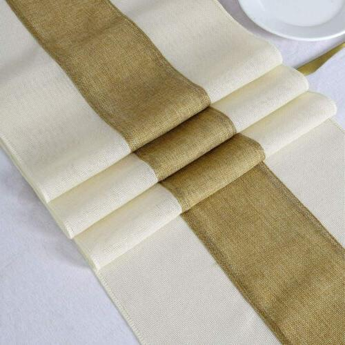 rustic table runner splicing burlap table runner