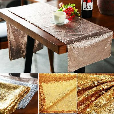 Sequin Table Gold Wedding Decorations