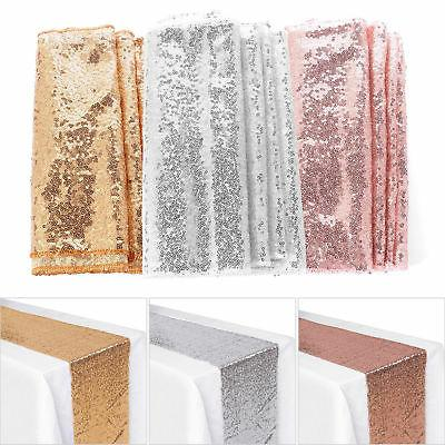 Sequin Runner Gold Wedding Decorations