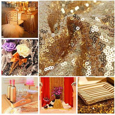 Sequin Table Tablecloth Gold