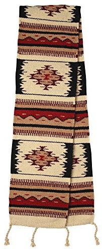 Southwest & Native American Style Table Runner made from 100