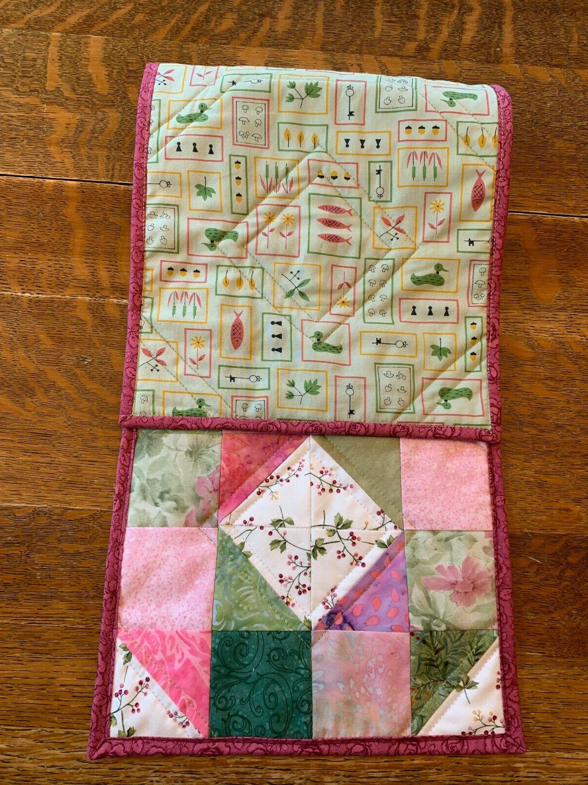 Spring Quilted Table Floral