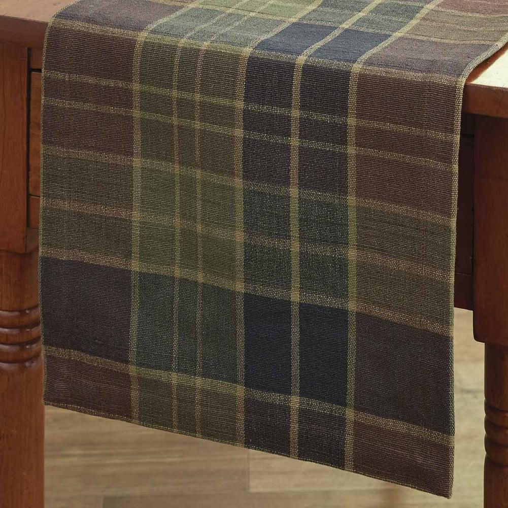 "Table Runner 36"" - Frontier Plaid by Park Designs - Kitchen"
