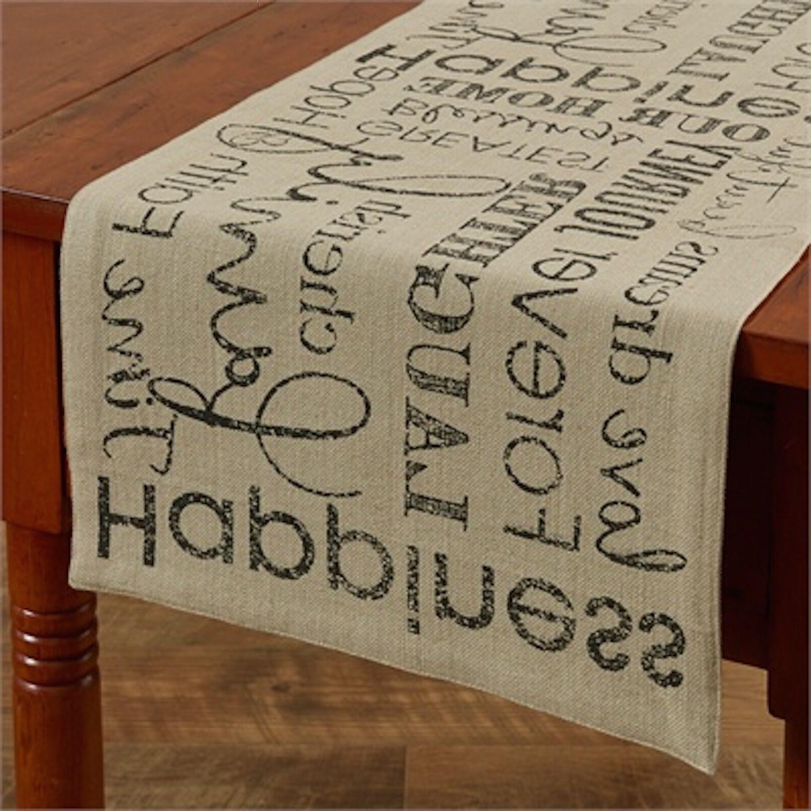 "Table Runner 36"" - Dover by Park Designs - Kitchen Dining -"