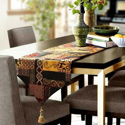 table runner gold illusion thickly