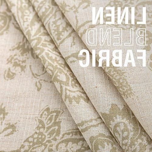 Scroll Burlap Tablecovers Design Tablecloths, Sageâ¦