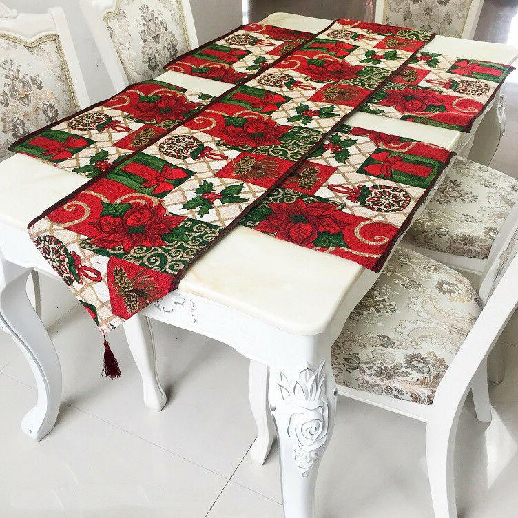 Decorative Placemat for Dinning Table Patchwork Embroidered