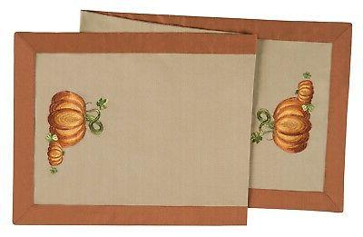 "Thanksgiving Fall Pumpkin Harvest 51"" Table Runner Autumn De"