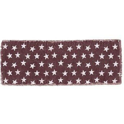 VHC Americana Runner Cotton Home Red White Blue 3 Sizes