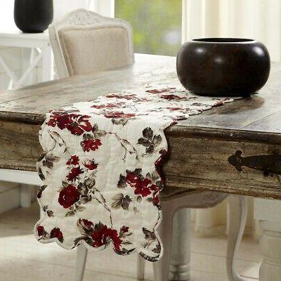 vhc farmhouse table runner decorative tablecloth home