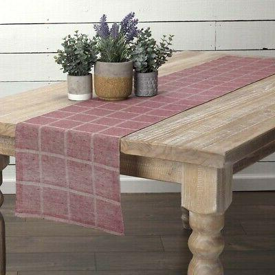 vhc farmhouse table runner julie tabletop kitchen