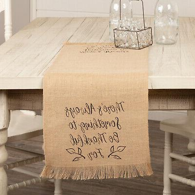 vhc rustic harvest fall home decor table