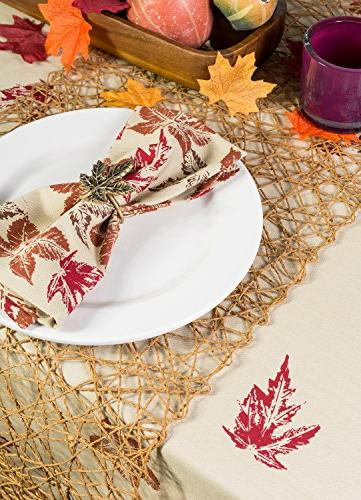 DII Woven Table Runner Parties, and Taupe