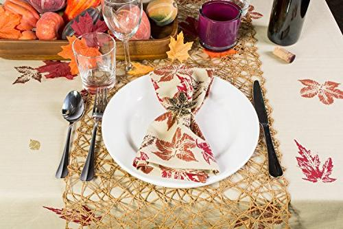DII Woven Decorative Table Parties, Taupe