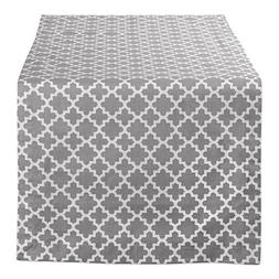 DII Lattice Cotton Table Runner for Dining Room, Foyer Table