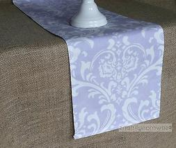 Lavender Table Runner Purple Wisteria Floral Table Centerpie