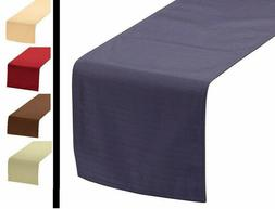 """Linen Table Runner 5 Color Choice 72""""L Holiday Kitchen Dinin"""