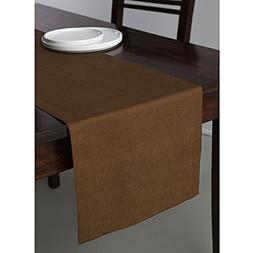 Solino Home 100% Pure Linen Table Runner Athena, Natural Fab