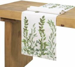 Ling's moment Dinning Table Runners 72 Inch Farmhouse Decora