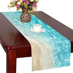 Love Nature Houseables Fitted Custom Beach Cotton Table Runn