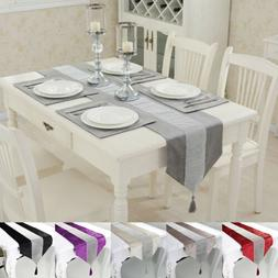 Luxury Diamante Table Runner with 4 Placemats Set Home Weddi