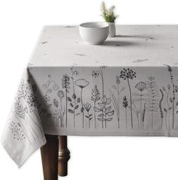 Maison d' Hermine Flore 100% Cotton Tablecloth 60 Inch by 90